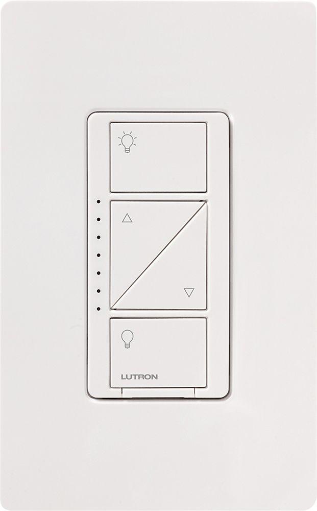 Lutron - Caseta Wireless In-Wall Dimmer - Light Almond