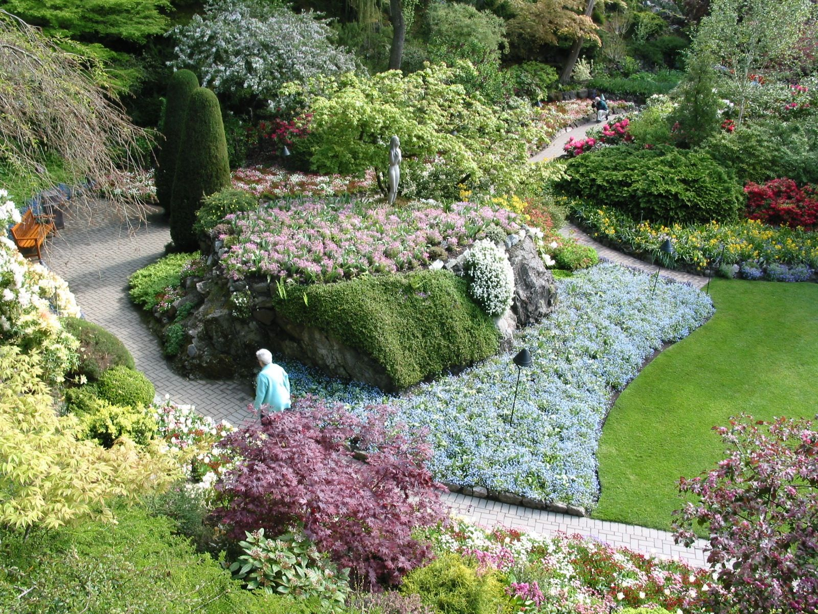 The Butchard Gardens, Victoria Island...British Columbia ...