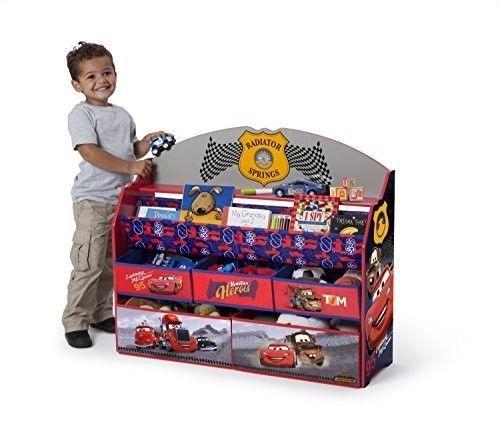 Toy Storage Box Children Deluxe Book and Toy Organizer Disney Pixar Cars Bins #DeltaChildren  sc 1 st  Pinterest & Toy Storage Box Children Deluxe Book and Toy Organizer Disney Pixar ...
