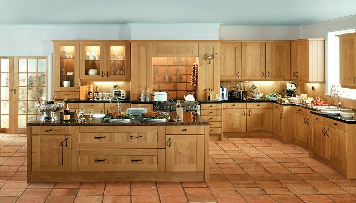 Shaker Winchester Oak Kitchen Kitchen Pinterest Kitchens
