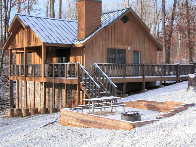 Ordinaire Park Cabins Are Magical When The Snow Softly Falls Outside Like Cabin 6 At Bear  Creek Lake State Park, Va