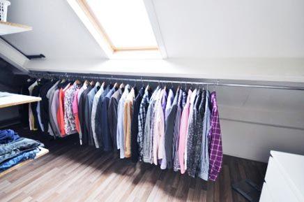 Begehbarer Schrank Auf Dem Dachboden Ist Die Lösung | Schlafzimmer ... Schlafzimmer Dachboden Einrichten