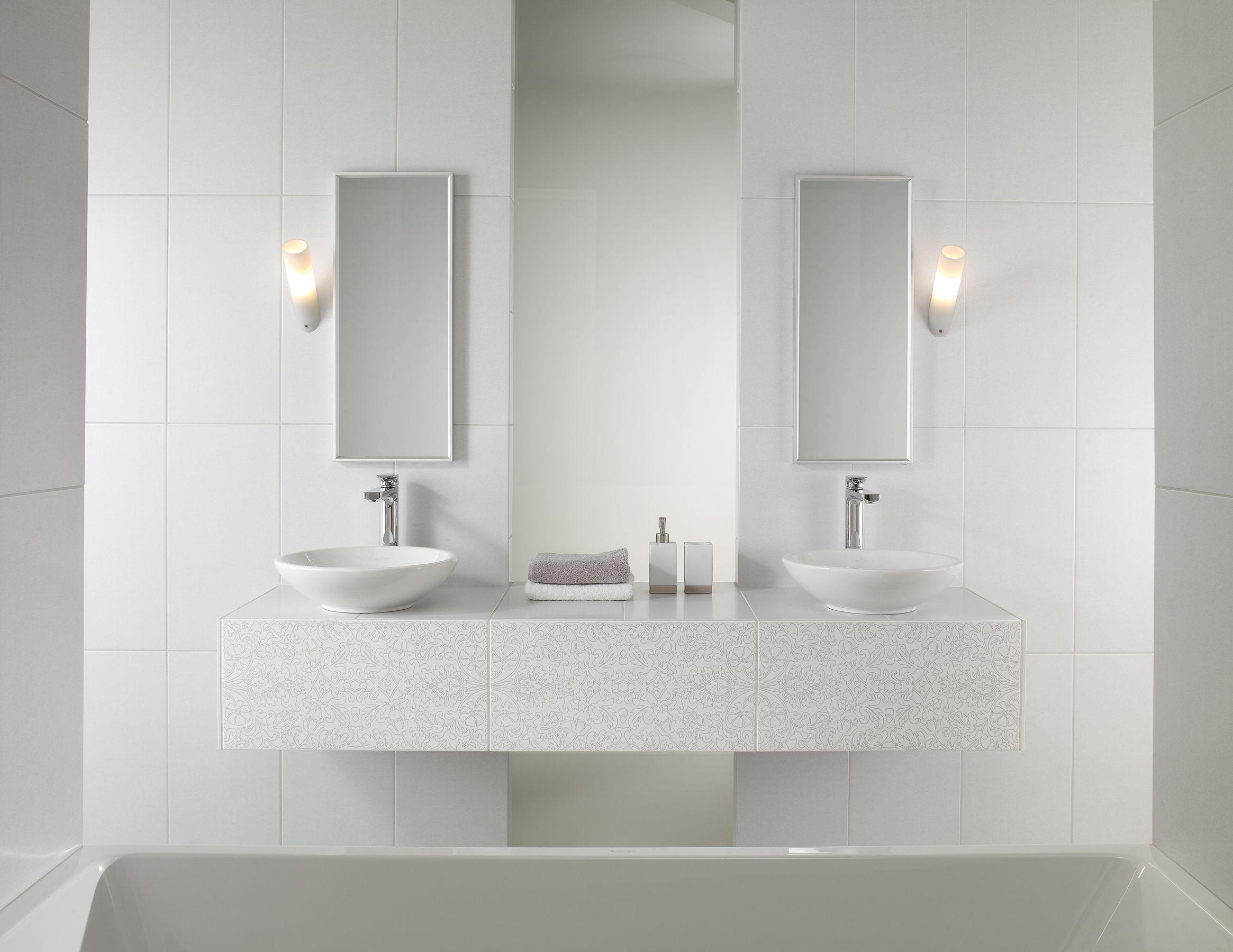 Badkamermeubels van Villeroy & Boch vind je bij Intermat