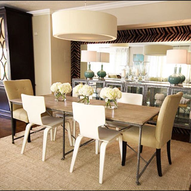 Dining Room By David Bromstad For HGTV's Color Splash