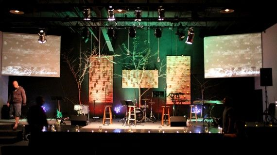 Hanging Masons | Church Stage Design Ideas