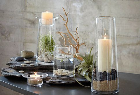 Image detail for -PartyLite   Our Products   Decorating Ideas   Symmetry Pillar Holders
