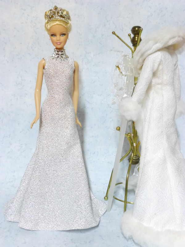 barbie - mistress of ice - free patterns for dress and coat | dolls ...