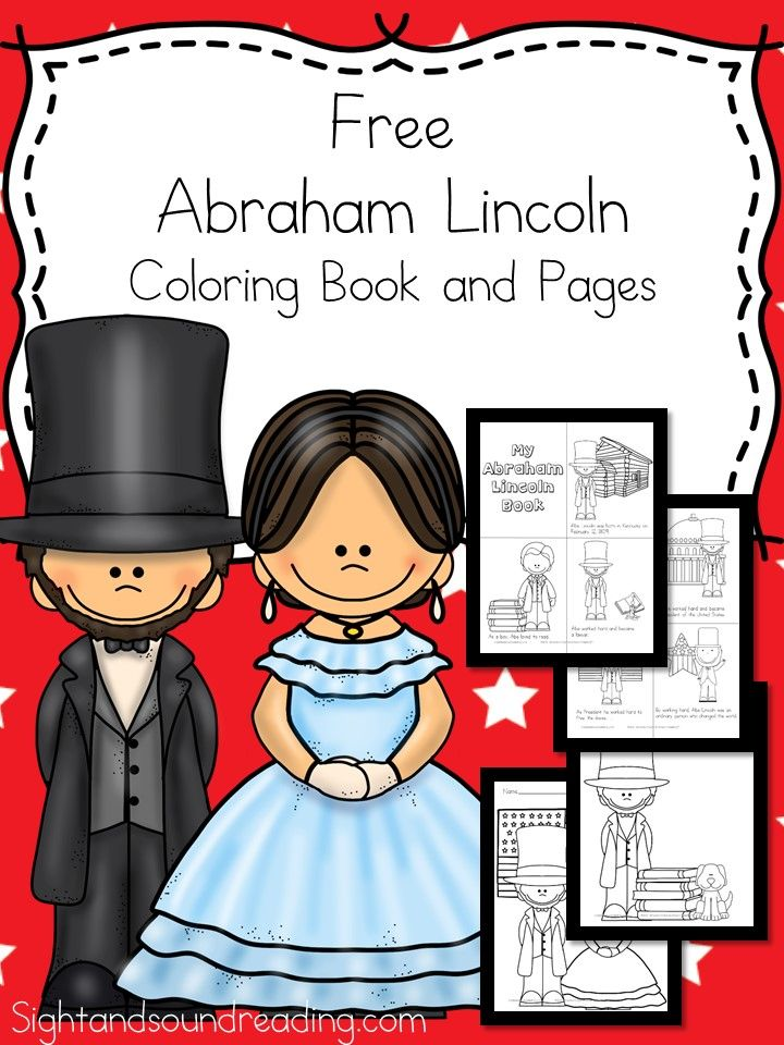 Abraham Lincoln Coloring Pages and Coloring Book | Abraham lincoln ...