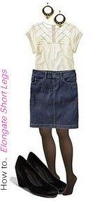 Лучшие модные юбки для короткими ногами и длинной талией