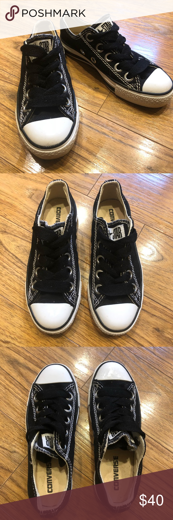 da98506a7140a9 Converse Men s size 4  Women s 6 These Converse have never been worn! Super  cute for fall. ♢️Men s size 4  women size 6 Converse Shoes Athletic Shoes