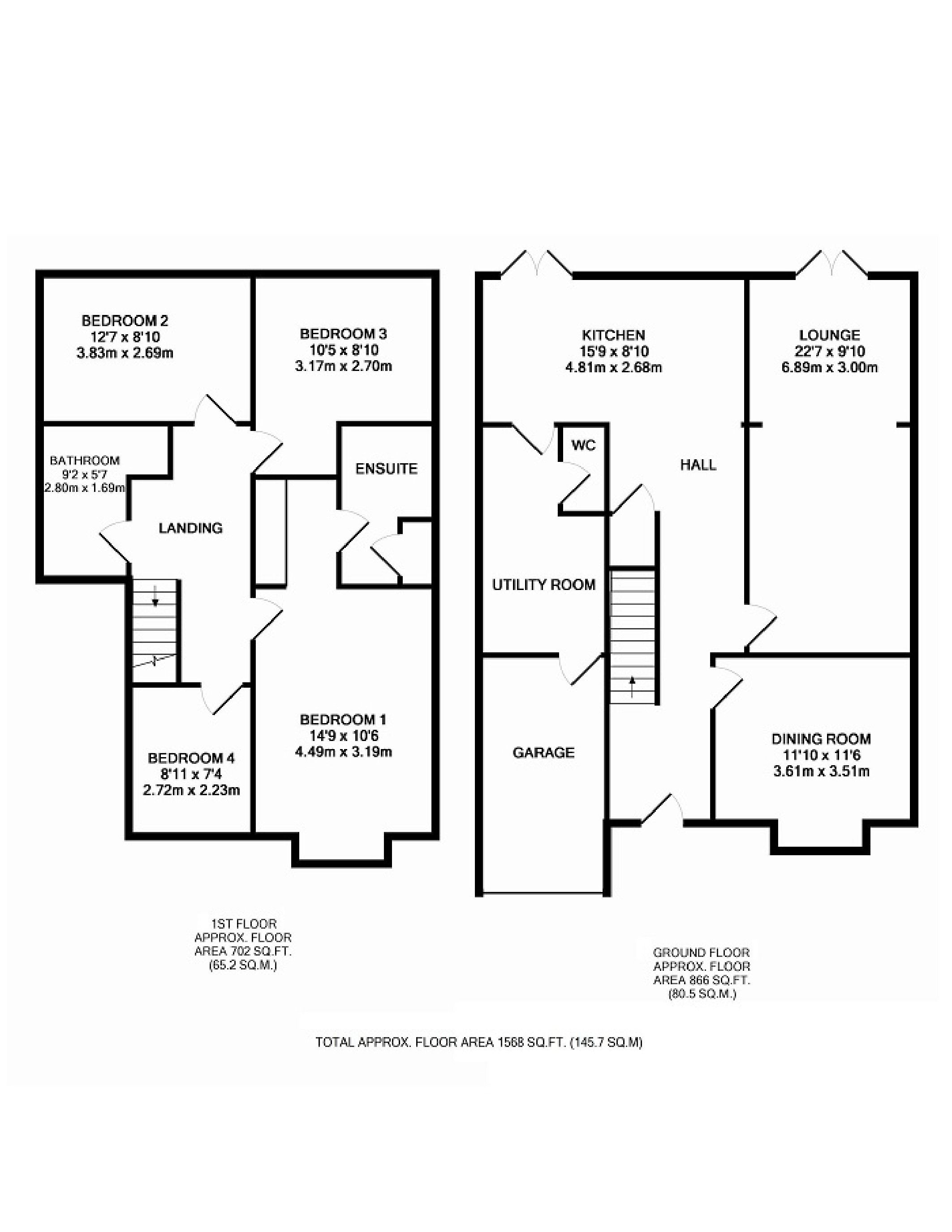 Image Result For Semi Detached House Extension Floor Plan