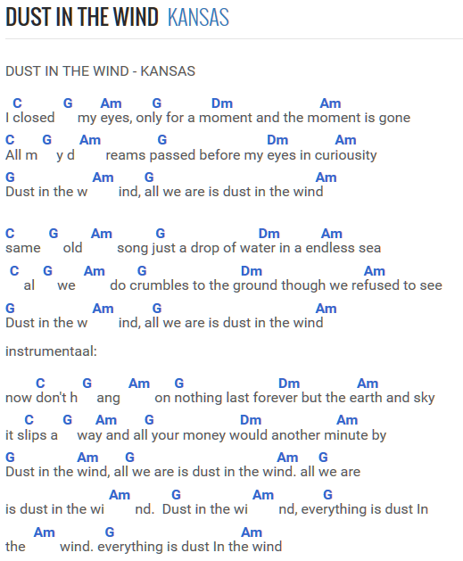 Dust in the wind Kansas | Guitar | Pinterest | Kansas, Guitars and ...