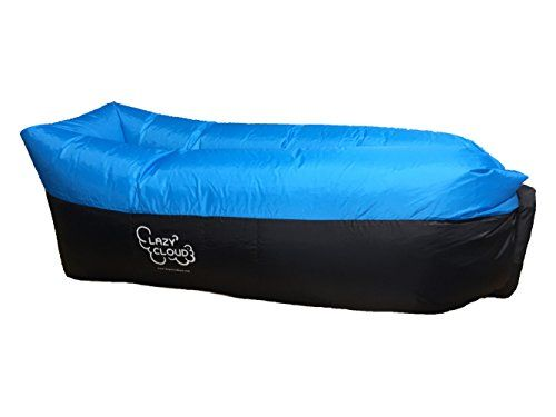 Premium Waterproof Outdoor Inflatable Lounger with Parachute Ripstop Material Portable Airbed Hangout Lazy Sofa Great for Water Beaches Camping and Home Use  Lazy Cloud Bed >>> You can get additional details at the image link. (This is an affiliate link) #TravelSleppingBagsandCampBedding