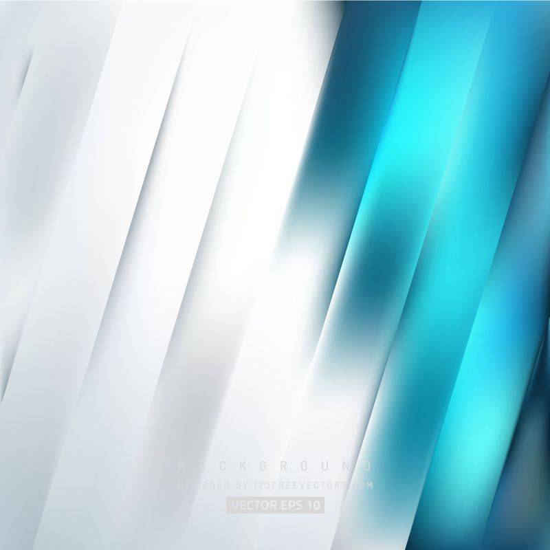 Abstract Blue And White Background Design With Light Transparent