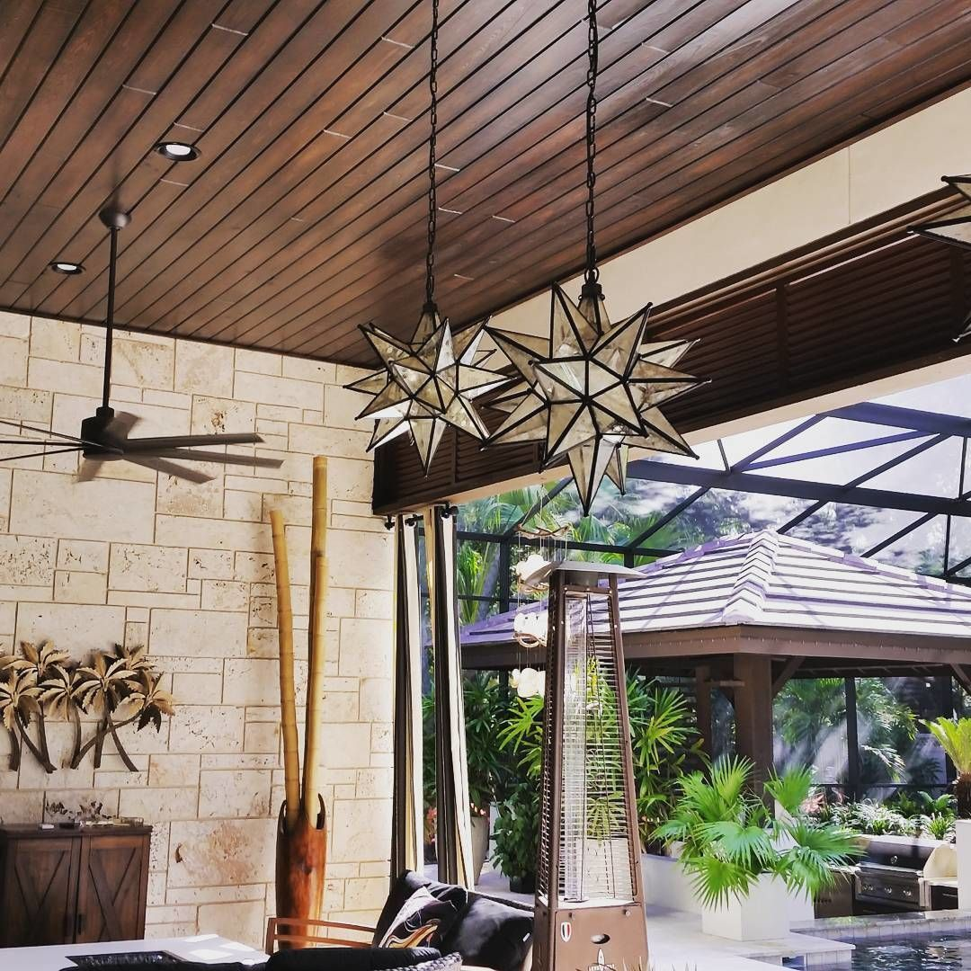 Outdoor Patio Wood Ceiling By Modern
