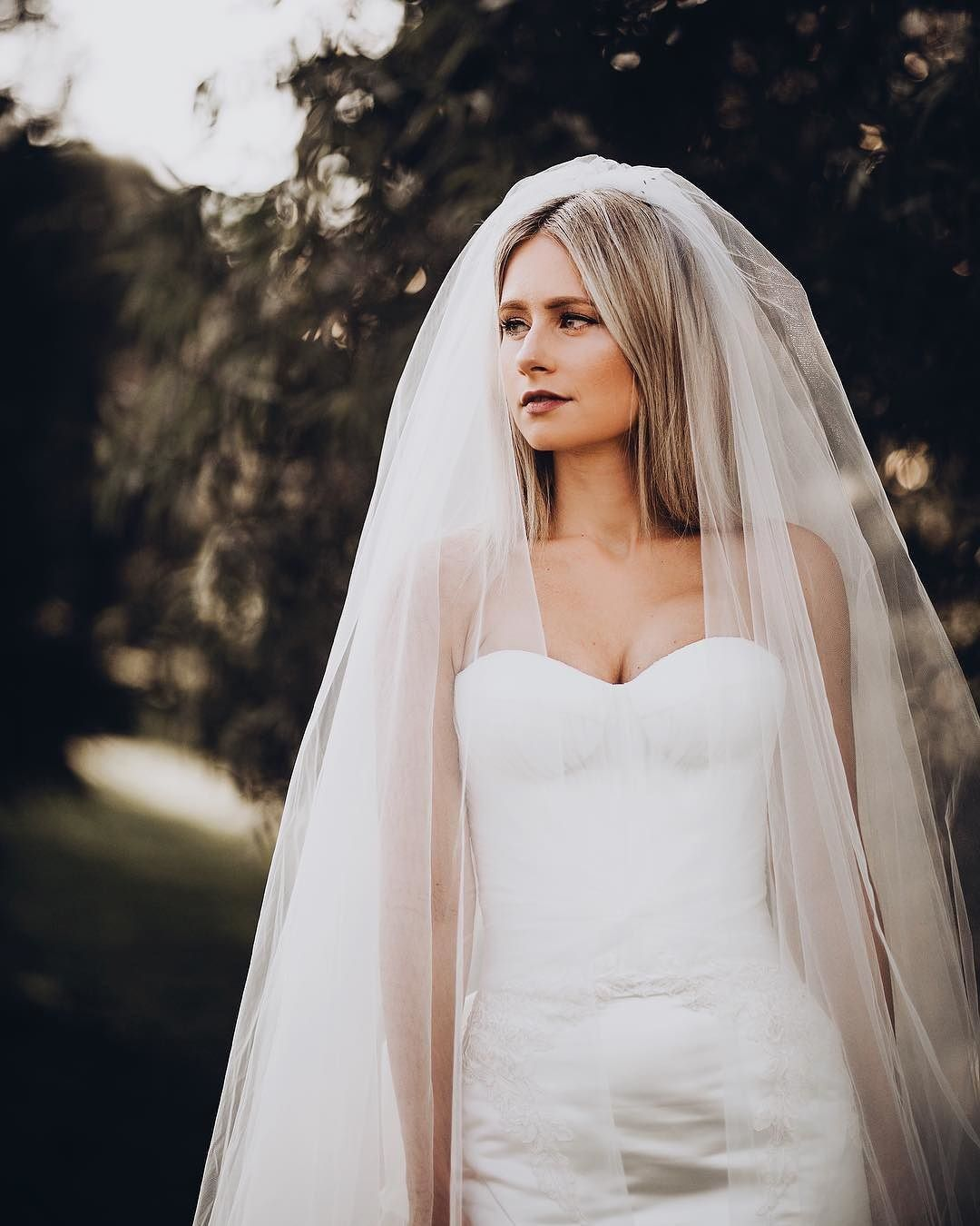 This Veil Tulle Two Tier Cathedral Length Veil By White X Vera Wang Exclusively At David S Bridal Wedding Dress Inspiration David S Bridal Veils Bridal [ 1350 x 1080 Pixel ]