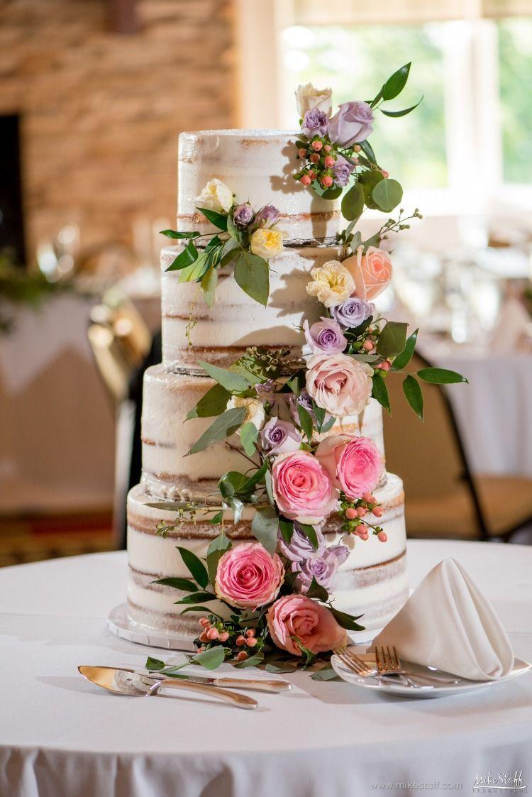 Detroit Wedding Photographer Mike Staff Productions Summer Wedding Cakes Garden Wedding Cake Themed Wedding Cakes