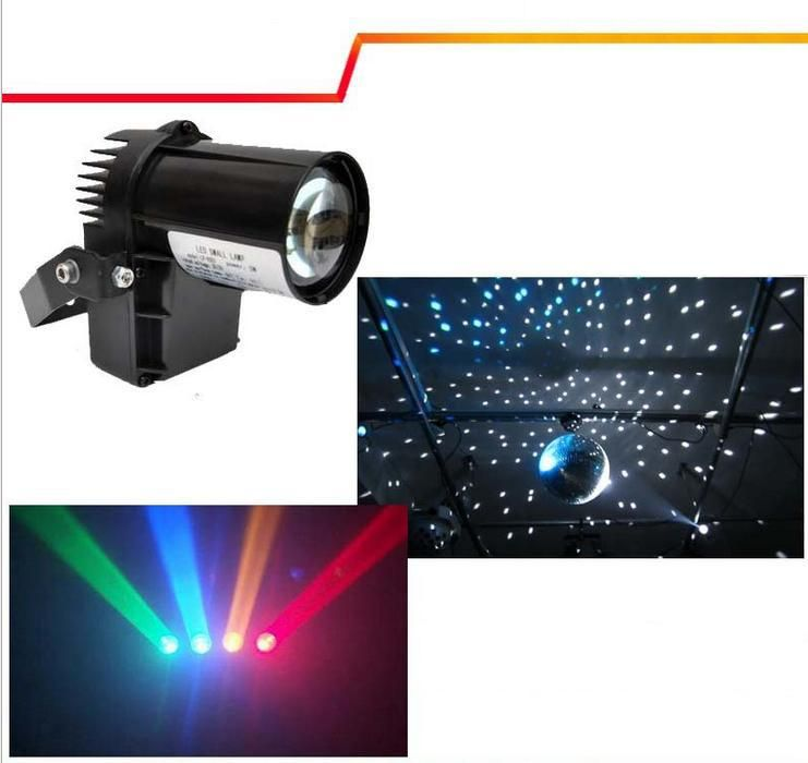 10w Rgbw Cree Lamp 4in1 Led Pinspot Light Dmx 512 Control Led Rain Stage Light Ktv Dj Club Party Light Black White Cov Dmx Lighting Stage Lighting Party Lights