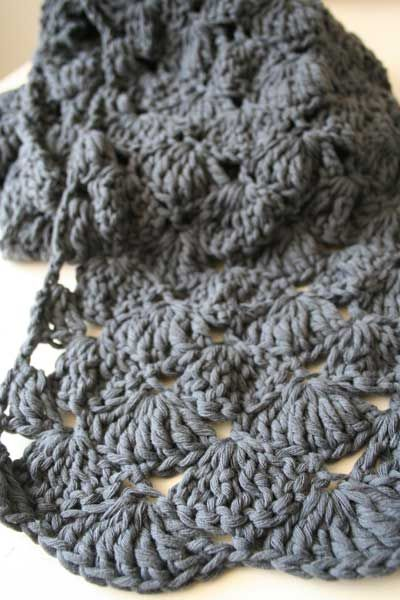 Scarf tutorial, pictures & translated Dutch words