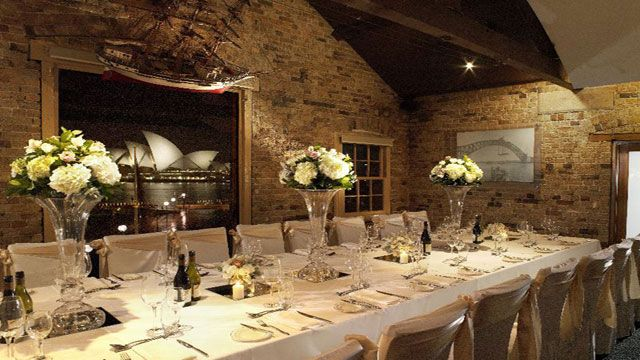 Wedding Decoration Showcasing Sparkling Views Of Sydney Harbour Wolfies Grill Combines