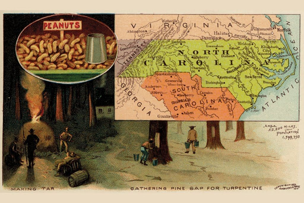 North Carolina, by Arbuckle Brothers