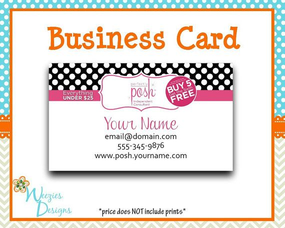 Perfectly Posh Business Package, Business Card, Direct Sales ...