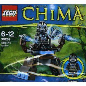 Exklusiv 30262 Neu Walker Gorzan's Set Lego Chima 00 9 À 2014 vOm0wnN8