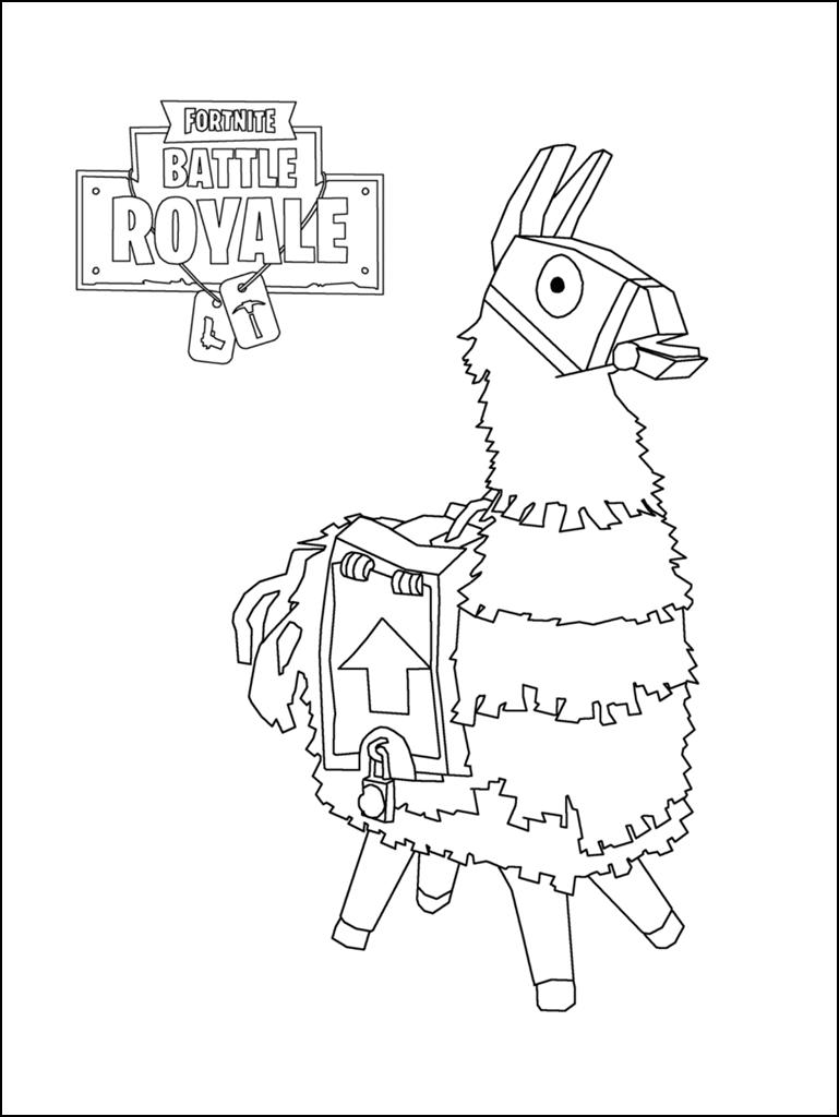 Fortnite Coloring Pages 020 Png 769 1 024 Pixels Cartoon Coloring Pages Coloring Pages Coloring Books