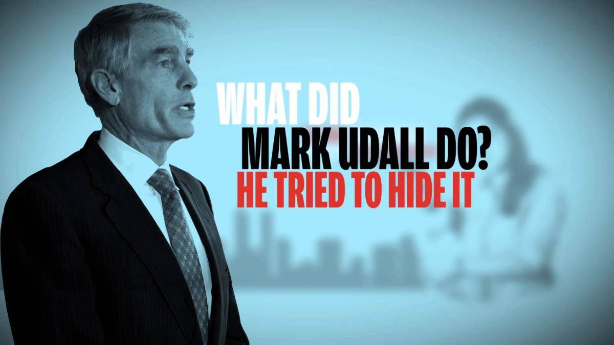 Unaffordable mark udalls obamacare record udall