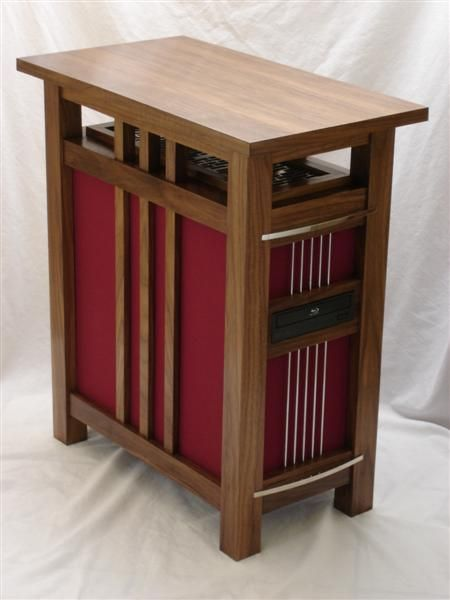 Mission Style Table Computer Tower By Jeffrey Stephenson Diy Computer Case Computer Case Pc Cases