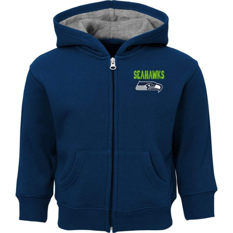 Team Apparel Toddler Seattle Red Zone FullZip Hoodie