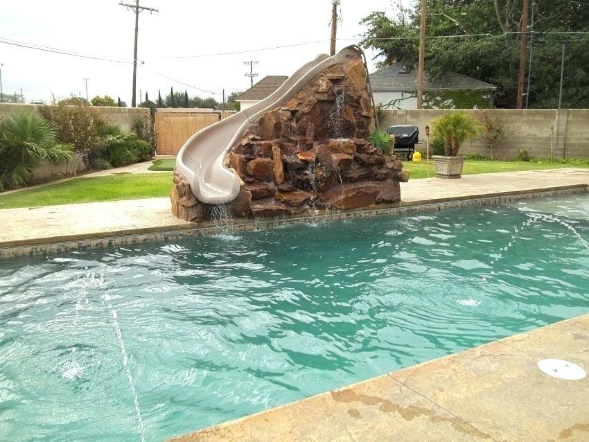custom pool slides for inground pools custom pool slide ...