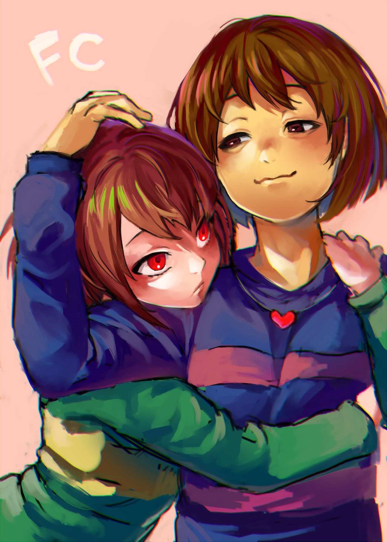 Again, I don't ship it, but this is really good fanart | Undertale