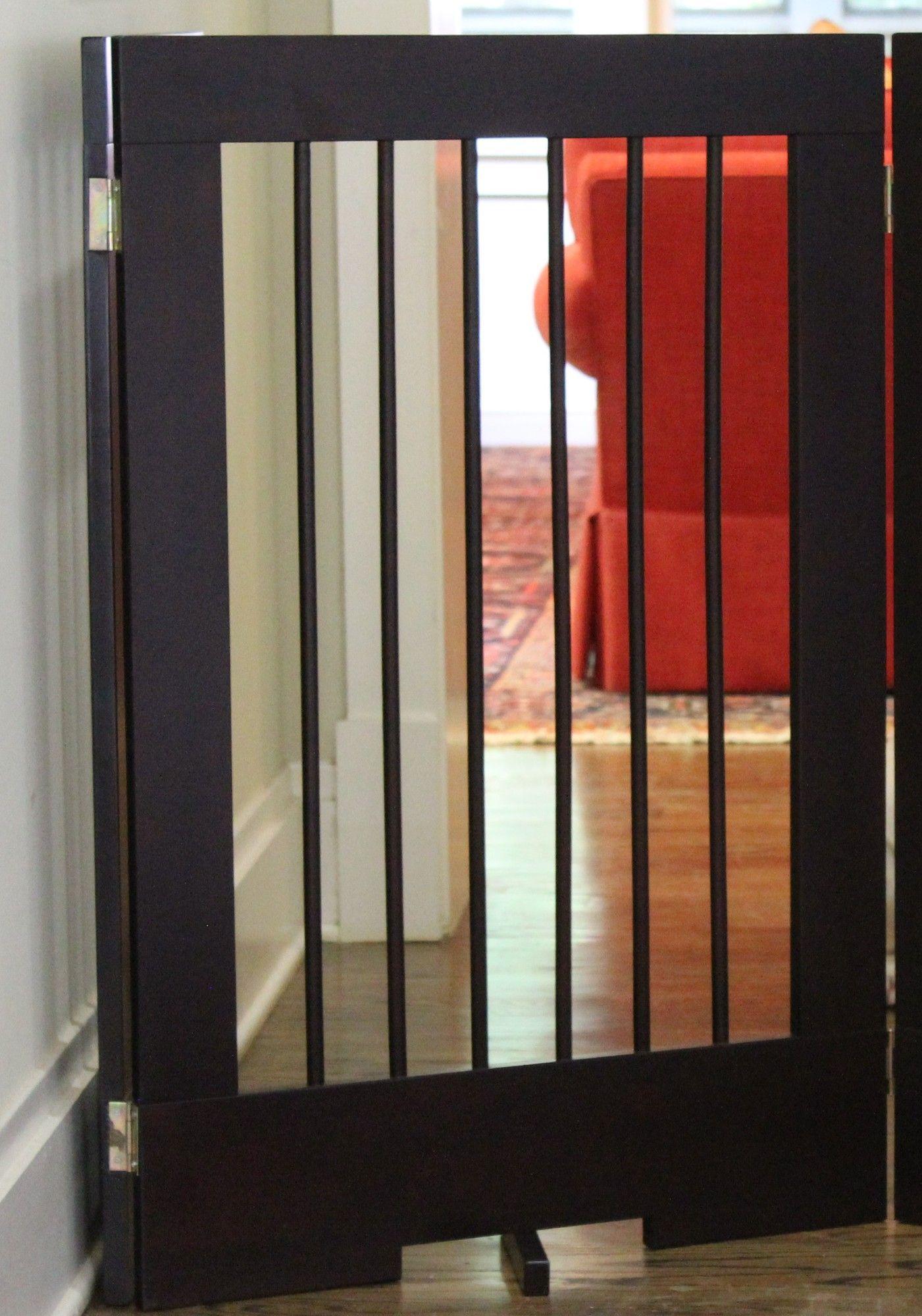 "24"" Pet Gate Extension Pet gate, Diy dog gate, Dog rooms"