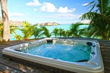 Bora Bora Pearl Beach Resort Jacuzzi Hot Tub Tahiti Polynesia