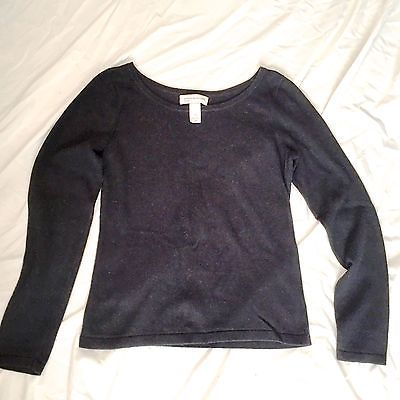 Details about NWT Jones New York black dressy sweater. Womens M ...