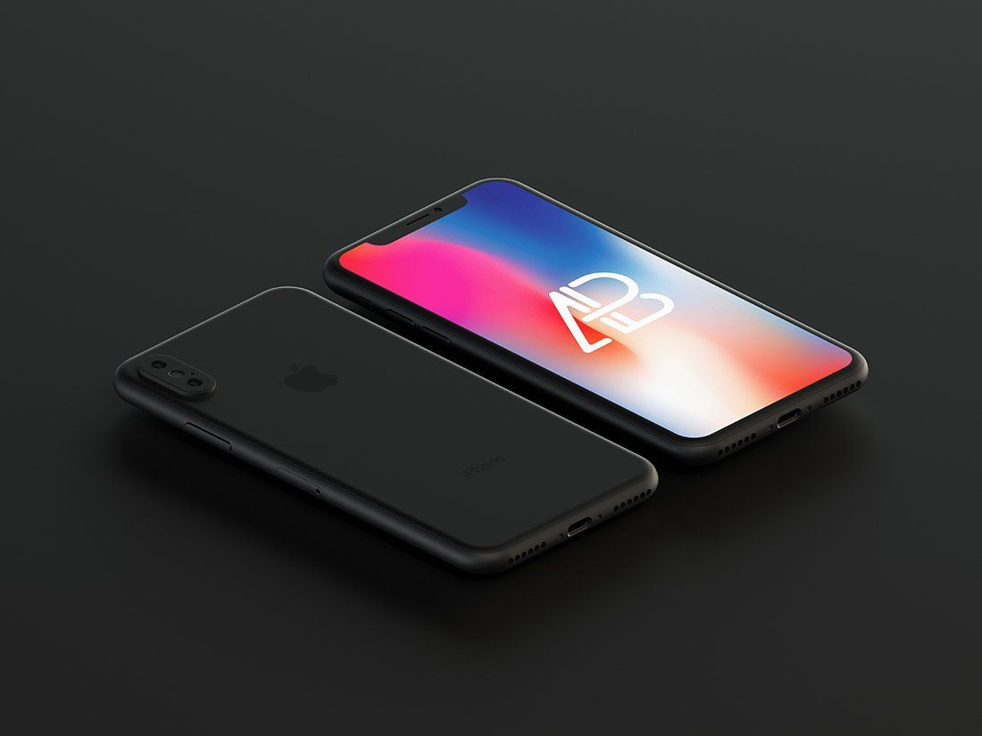 7d497d43ca7 Free photoshop mockup of matte black iphone x. Download this free photoshop  from the original source of Anthonyboyd. Amaze your fellow designers and  add ...