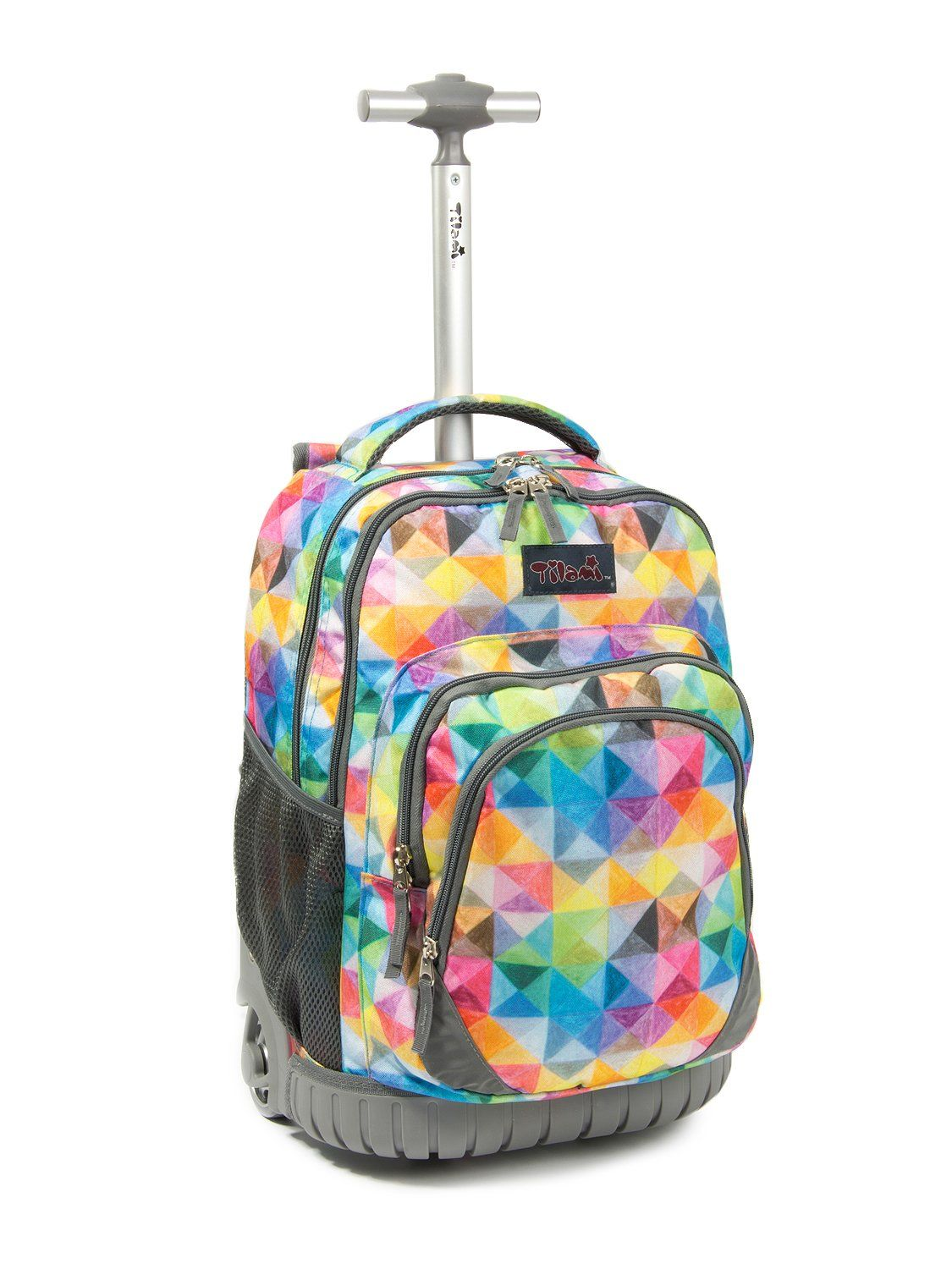 9d325805bd44 ... brand new b8176 0ec37 Tilami Rolling Backpack Armor Luggage School  Travel Book Laptop 18 Inch Multifunction ...