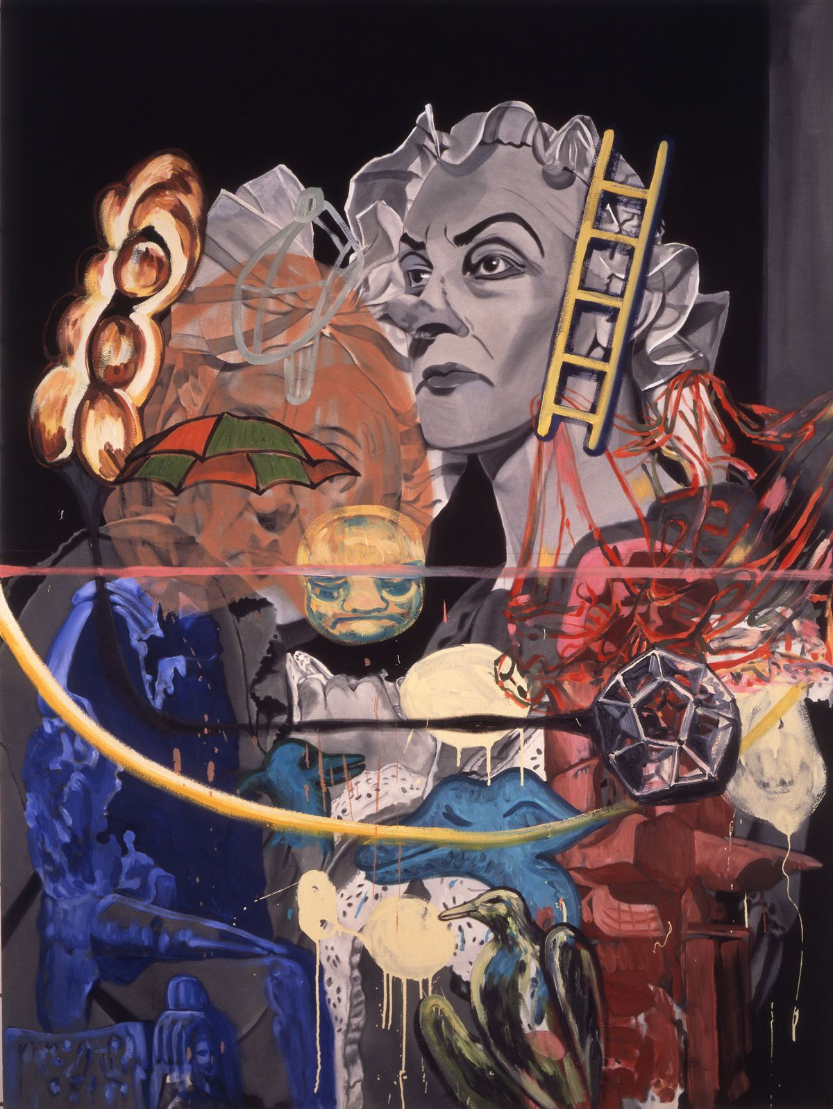 After 30 Years Of Scrutiny David Salle S Paintings Still Confound Painting Artist Art History