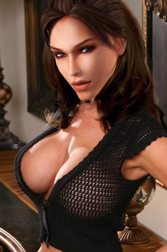 Lara croft sexy boobs