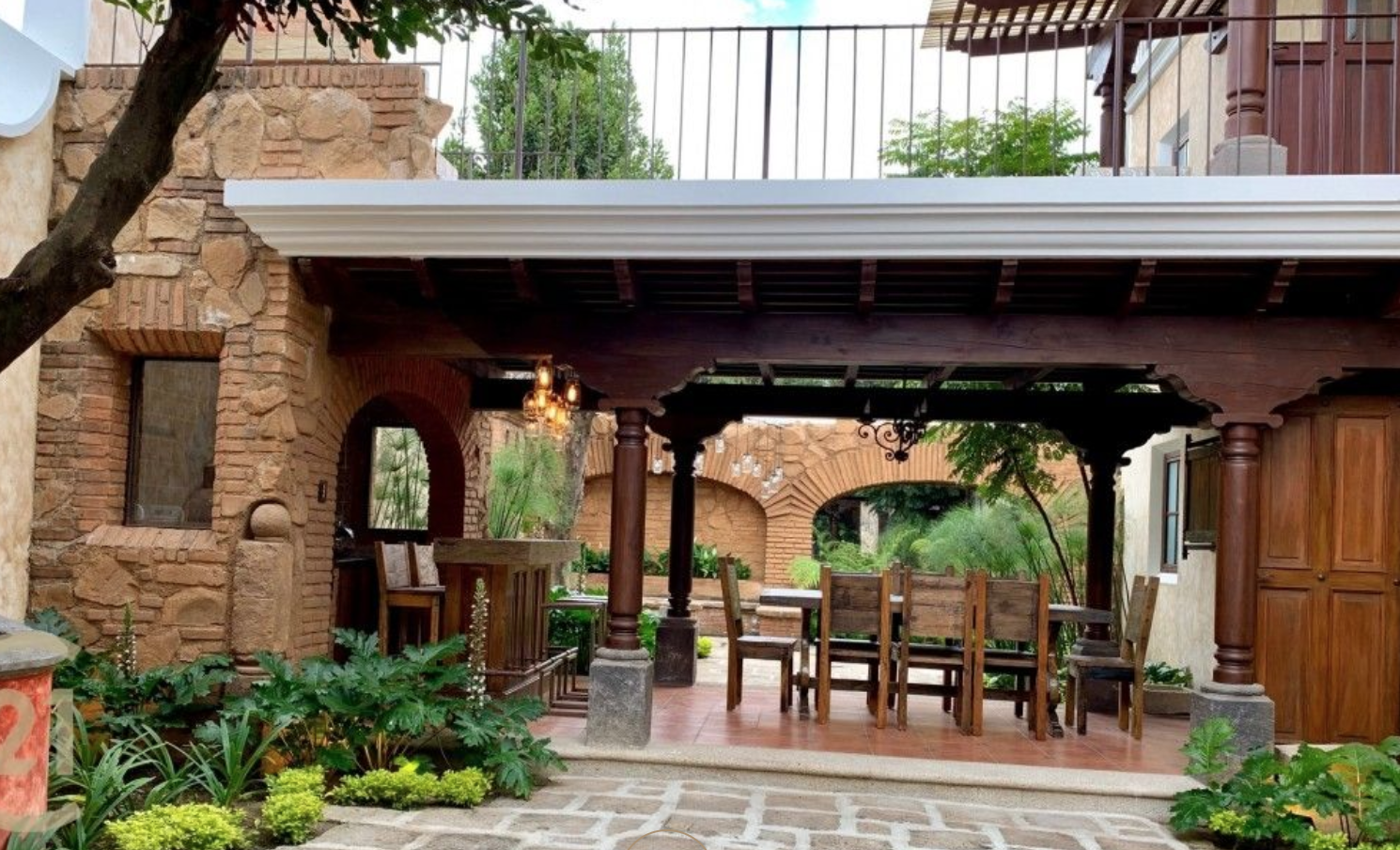 Terraza Casa Estilo Colonial In 2019 Outdoor Decor