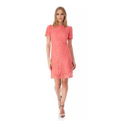 Amazing Yumi Pink Lace Occasion Dress Debenhams Wedding guest dresses from the UK high street