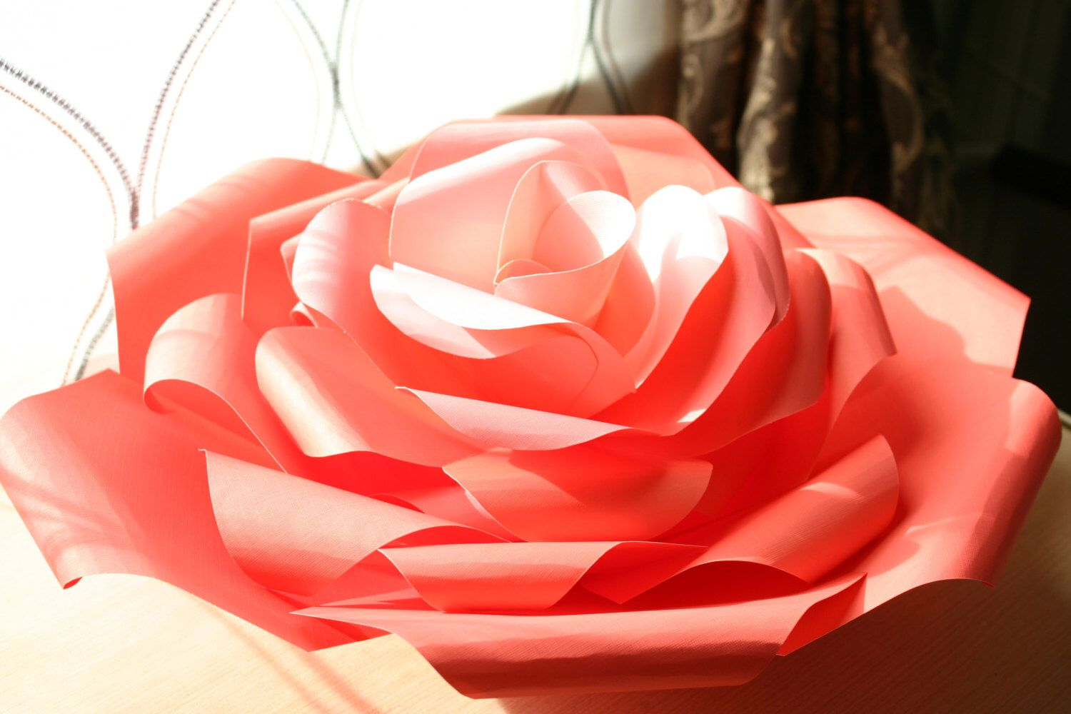 A personal favourite from my etsy shop httpsetsyuk items similar to x large giant paper flower large paper flower paper flowers home decor wall art on etsy mightylinksfo