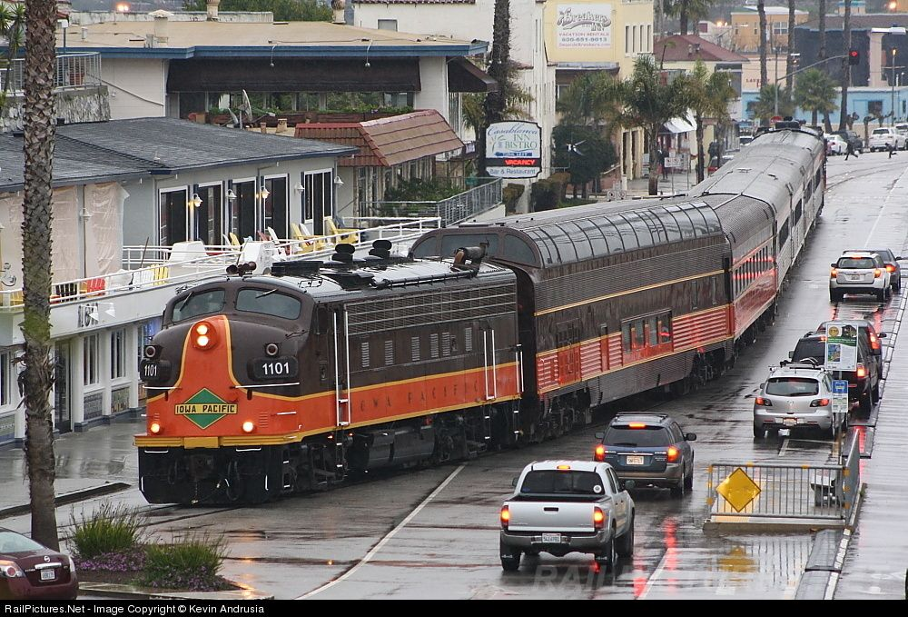 SC 1101 Santa Cruz & Monterey Bay Railway F9PHA at Santa Cruz, California
