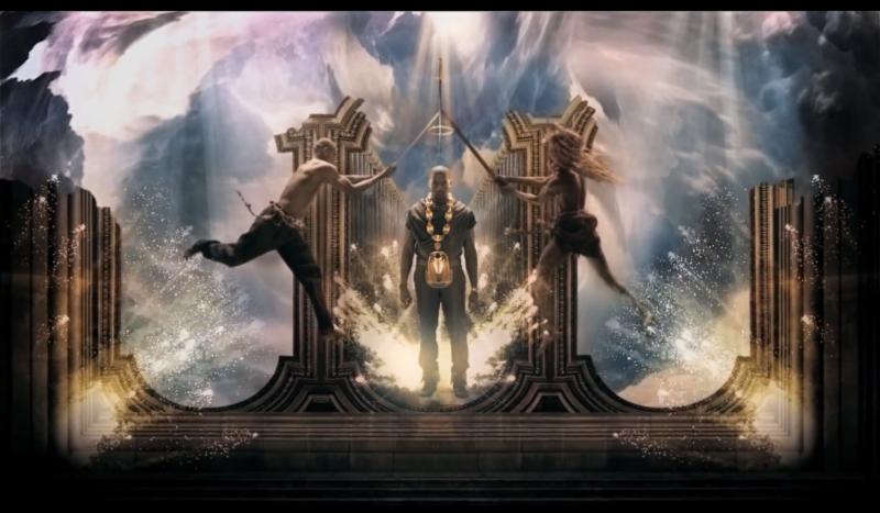 Hip Hop As Modern Mythology Kanye West Power New York Art Mythology