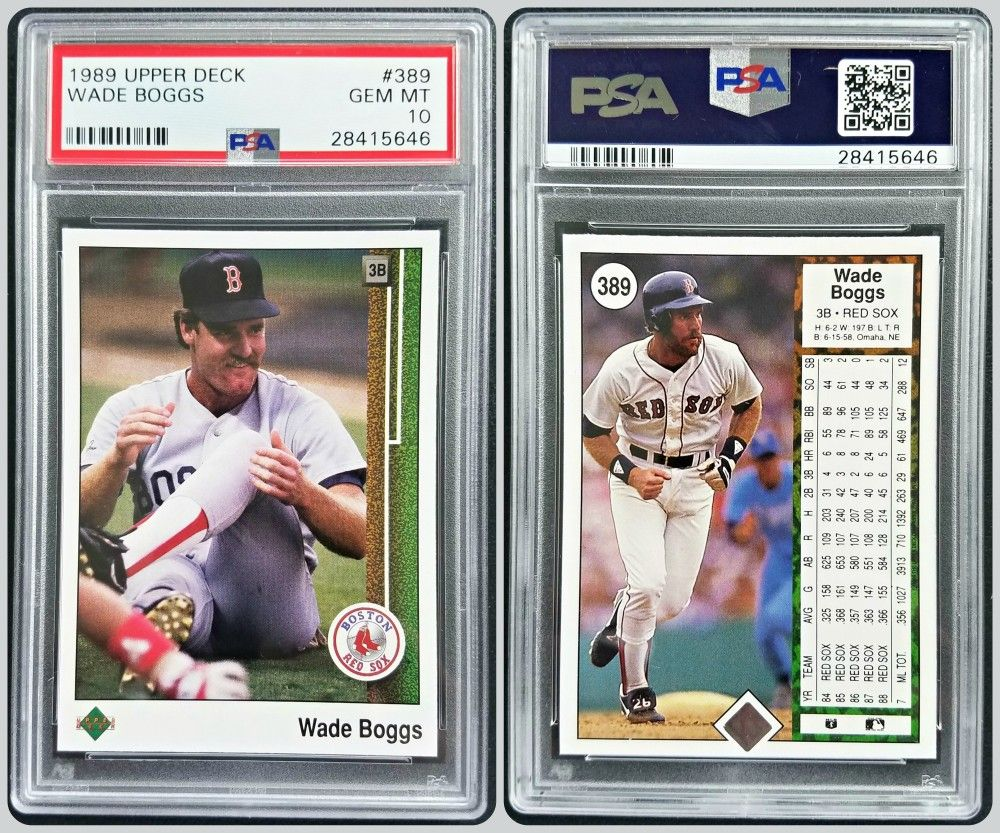 First Year Issue 1989 Upper Deck Baseball Card Hall Of