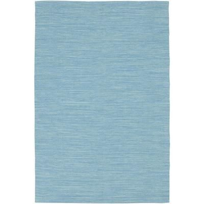 Chandra India Blue 5 ft. x 7 ft. 6 in. Indoor Area Rug-IND7-576 - The Home Depot