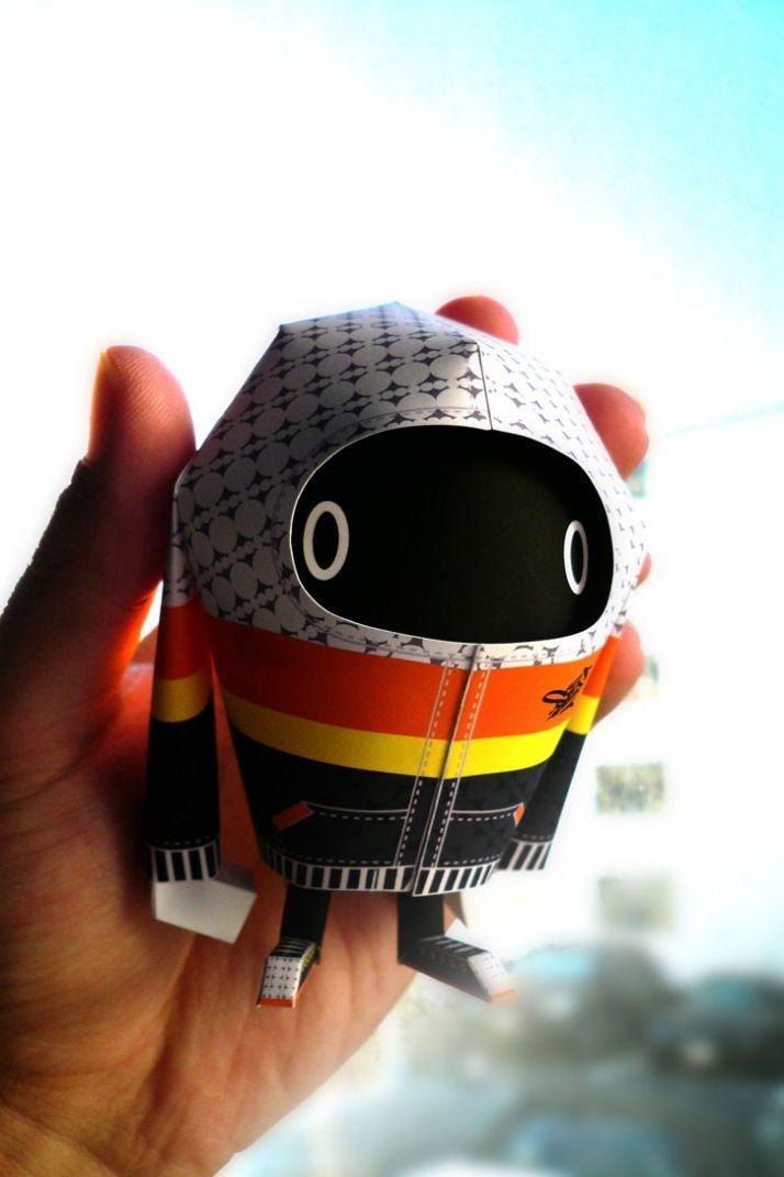 Papierspielzeug von Shin Tanaka – #Papierspielzeug #Shin #Tanaka #von