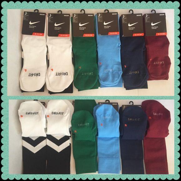 Nike Classic Dri Fit Soccer Socks 12 To 14 Ea Nike Classic Dri Fit Cushioned Soccer Socks 14 Each Maroon Color Different Size W Soccer Socks Nike Nike Women