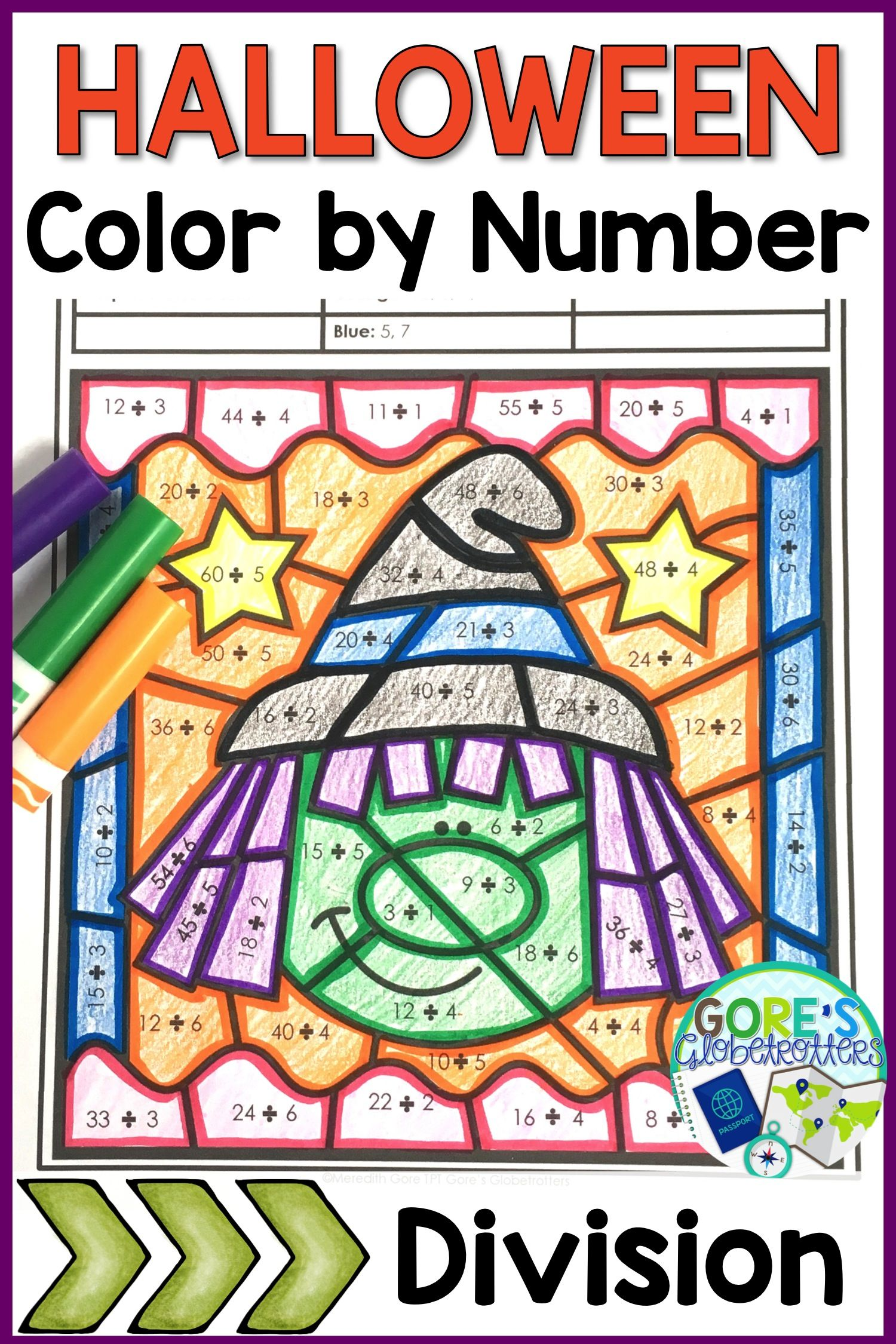 October And Halloween Math Worksheets